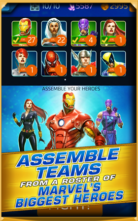 Download Marvel Puzzle Quest: Dark Reign Android Apk + Obb - NEW