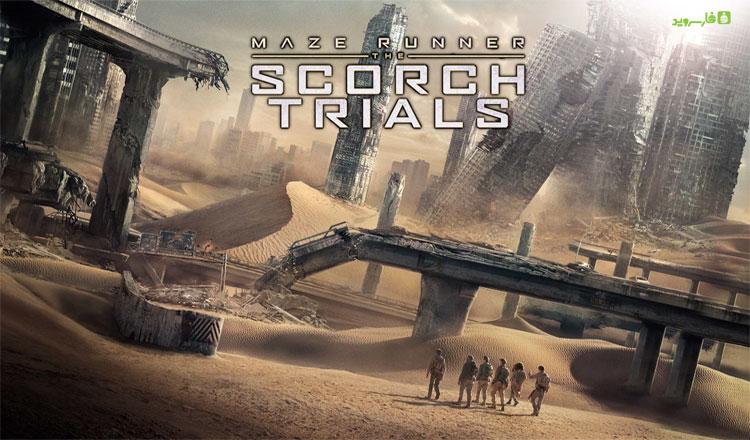 "Maze Runner The Scorch Trials دانلود Maze Runner: The Scorch Trials 1.0.13 – بازی فوق العاده ""دونده هزارتو: راه های اسکورچ"" آندروید + مود"