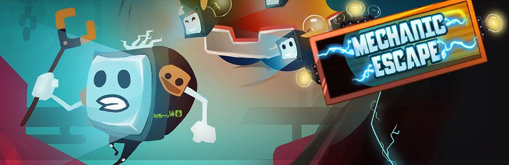 """دانلود Mechanic Escape - بازی فوق العاده زیبای """"فرار تلویزیون"""" اندروید !"""