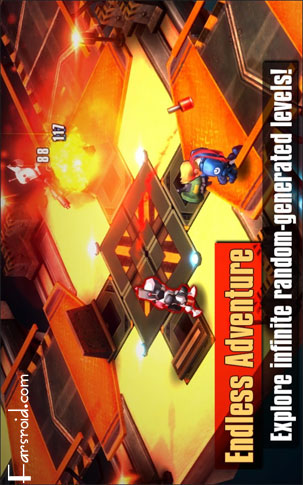 Meltdown© Android Game بازی اندروید