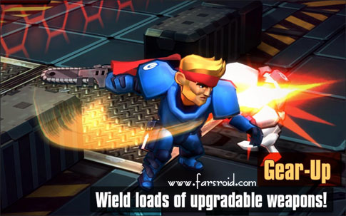 Download Meltdown© Android Game Apk + OBB - NEW