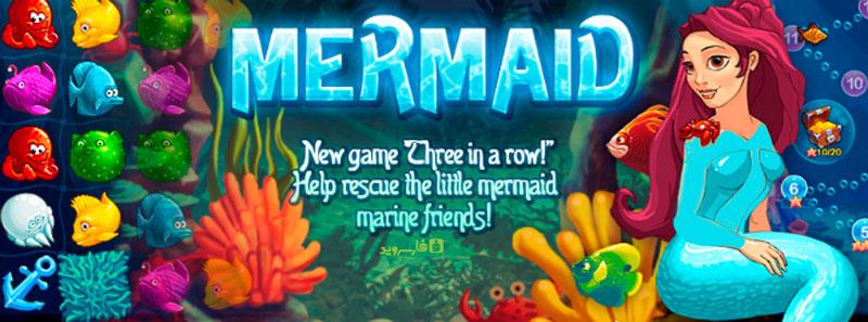"""دانلود Mermaid puzzle - بازی عالی """"پازل پری دریایی"""" اندروید + مود"""