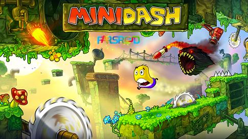 دانلود Mini Dash - بازی فانتزی، بسیار زیبا و اچ دی اندروید