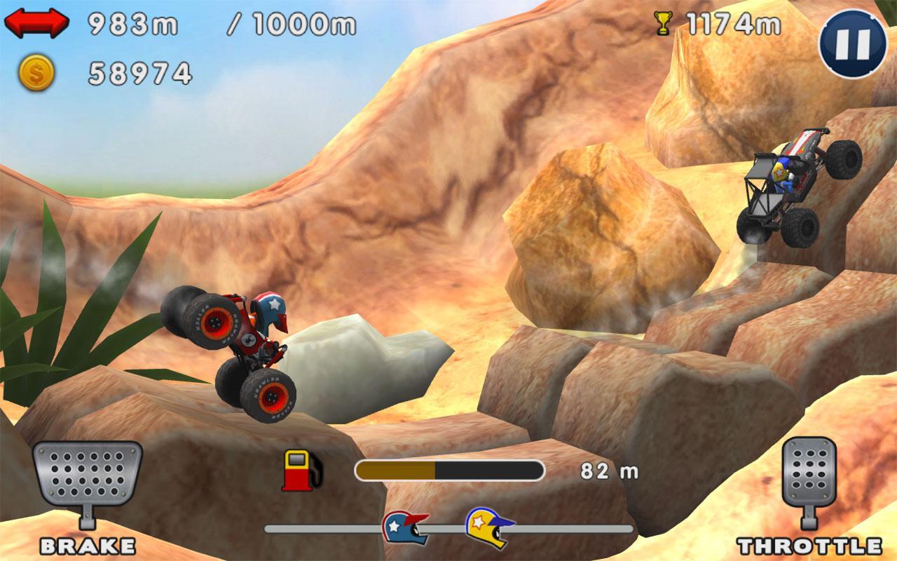 دانلود Mini Racing Adventures 1.21.7 – بازی ماشینی سواری اندروید + مود