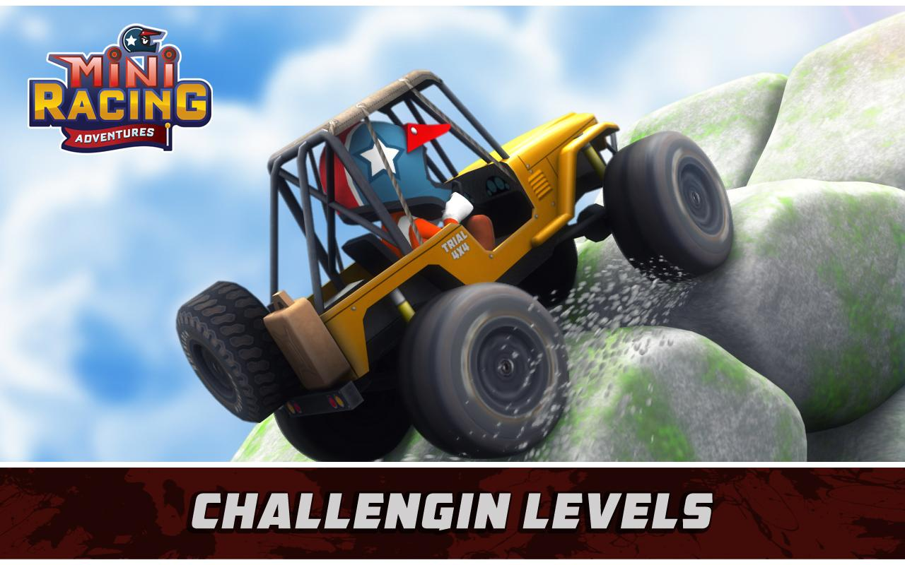 Download Mini Racing Adventures Android Apk + Mod (Unlimited Gold) - Google Play