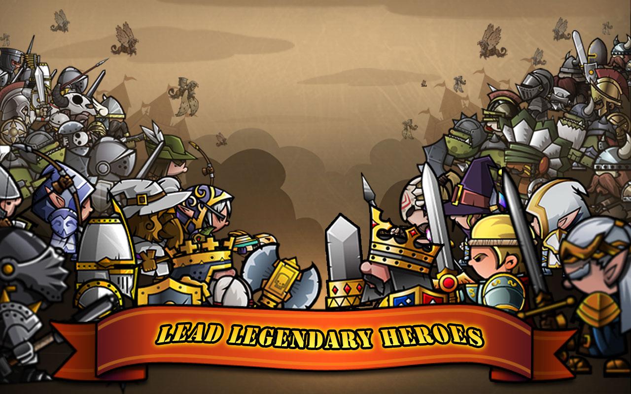 Mini Warriors Android - بازی جدید اندروید