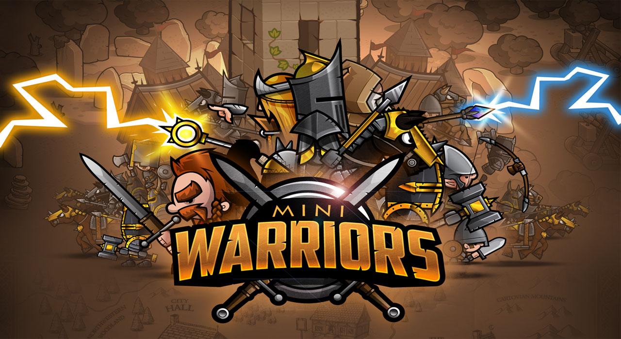 دانلود Mini Warriors - بازی استراتژی رزمندگان کوچک اندروید!