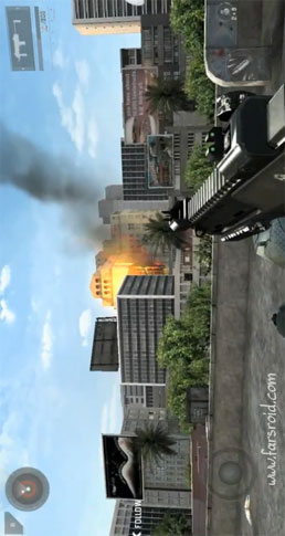 Modern Combat 3: Fallen Nation Android بازی اندروید