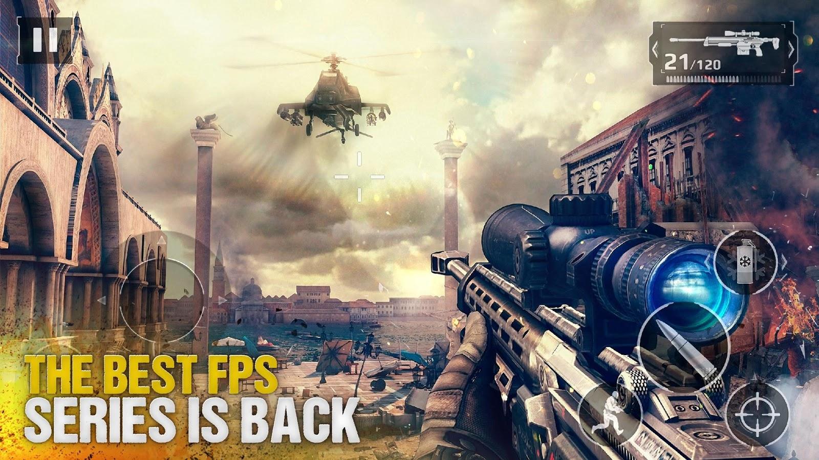 دانلود Modern Combat 5 eSports FPS 3.4.0l - بازی مدرن کامبت 5 اندروید + مود