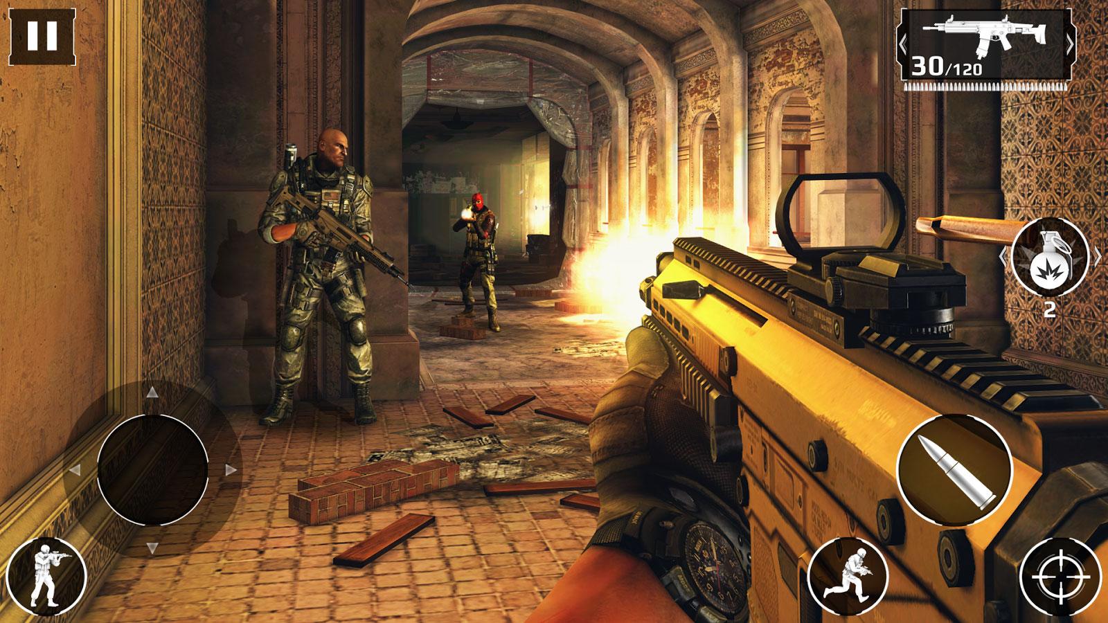 Modern Combat 5: Blackout - بازی اکشن اندروید