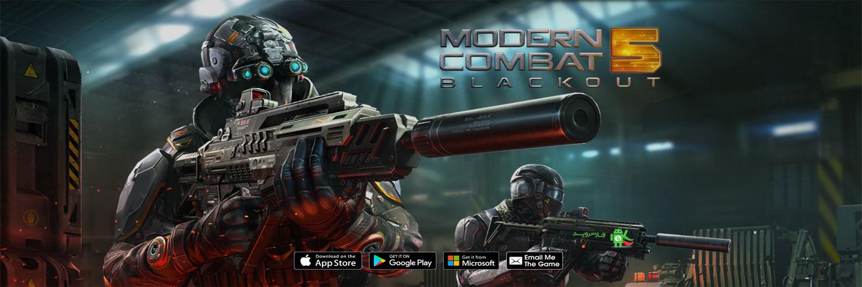 دانلود Modern Combat 5: Blackout 1.1.0k – بازی مدرن کامبت 5 اندروید!