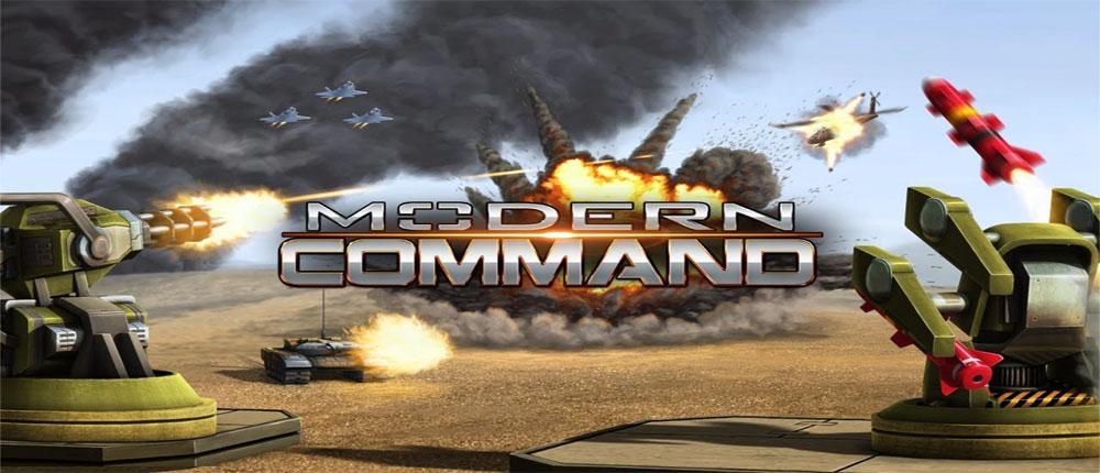 دانلود Modern Command - بازی فرماندهی مدرن اندروید + دیتا