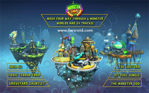 Download Monster 500™ Android Game Apk + Obb - NEW