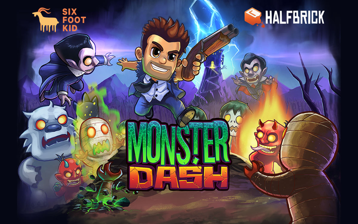 Download Monster Dash Android Game Apk + Obb SD - Google Play