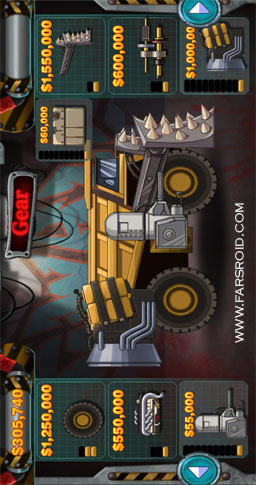 Monster Dash Hill Racer Android - بازی اندروید