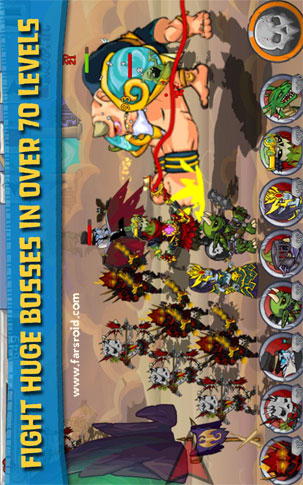 Monster Wars Android - بازی اندروید