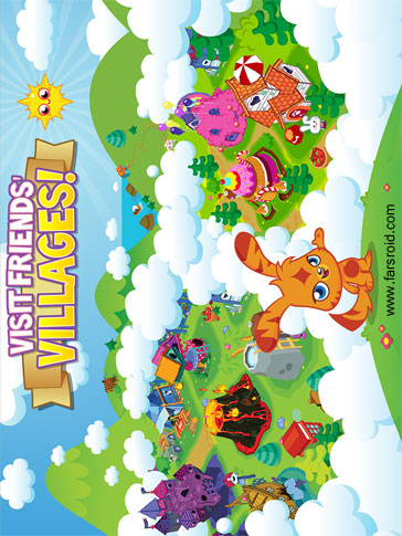Moshi Monsters Village Android - بازی جدید اندروید