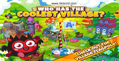 دانلود Moshi Monsters Village - بازی ساخت روستا اندروید