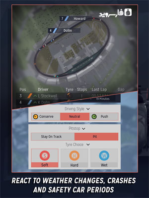 Motorsport Manager Android - بازی جدید اندروید