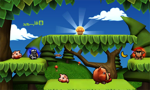 Muffin Knight Android - بازی جدید اندروید