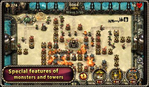 Myth Defense 2: DF Platinum - بازی اندروید