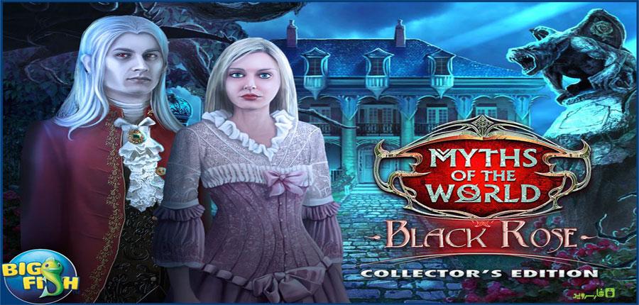 """دانلود Myths: Black Rose - بازی ماجرایی """"رز سیاه"""" اندروید + دیتا"""
