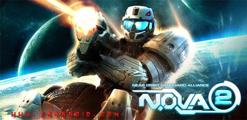 دانلود N.O.V.A. 2 Near Orbit Vanguard Alliance - بازی نوا 2 اندروید + دیتا