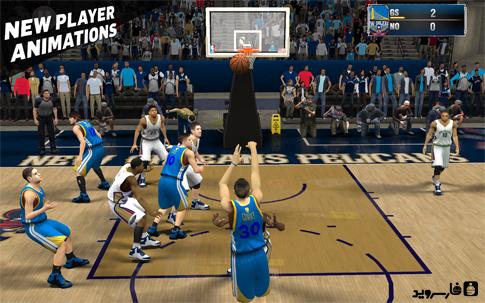 NBA 2K15 Android - بازی جدید اندروید