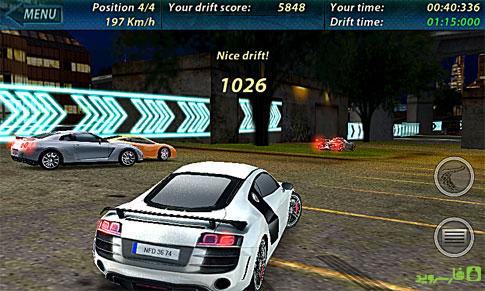 دانلود Need for Drift 1.57 – بازی محبوب جنون دریفت اندروید + مود + دیتا