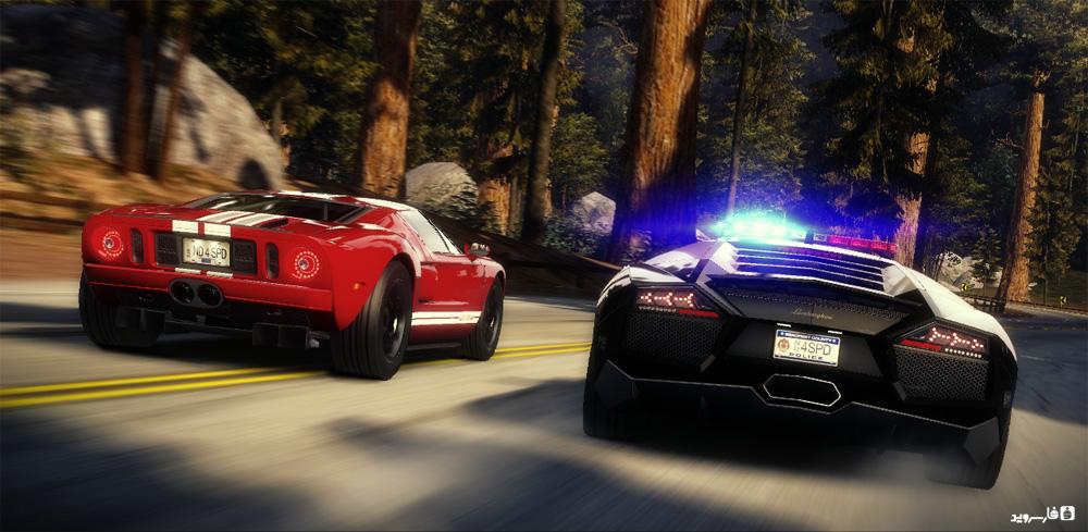 دانلود Need for Speed™ Hot Pursuit 1.0.62 - بازی جنون سرعت: تعقیب و گریز داغ اندروید + مود + دیتا