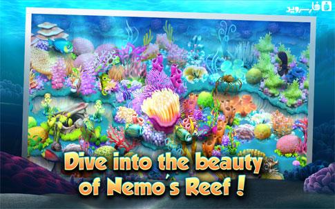 Nemo's Reef Android - بازی جدید اندروید