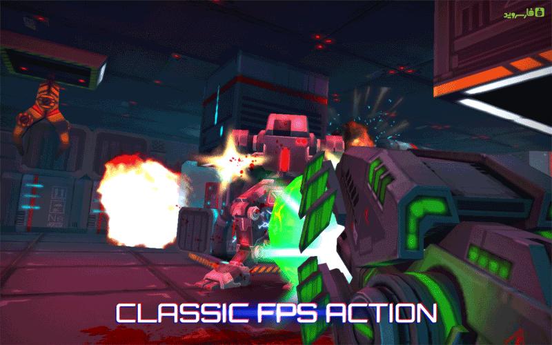 دانلود Neon Shadow 1.40 – بازی تیراندازی سایه نئون اندروید + مود + دیتا
