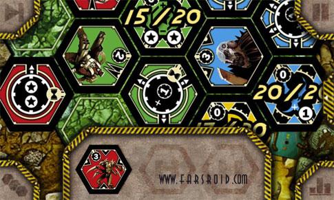 Neuroshima Hex Android Game بازی اندروید