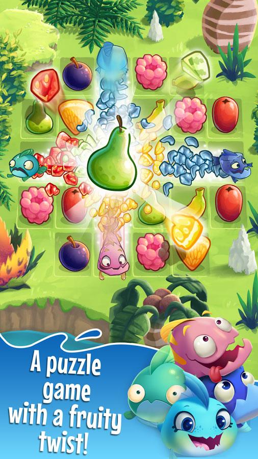 """دانلود Fruit Nibblers 1.22.10 – بازی پازل """"میوه های خوشمزه"""" اندروید + مود"""