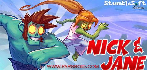 دانلود Nick & Jane HD - بازی اکشن نیک و جین اندروید!