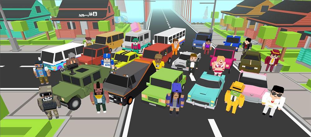دانلود Nitro Dash - بازی هیجان انگیز فرار از پلیس اندروید + مود