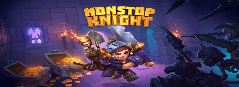 دانلود Nonstop Knight - بازی نقش آفرینی شوالیه بی توقف اندروید + مود