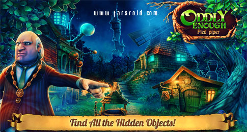 Oddly Enough: Pied Piper Android - بازی پازلی اندروید