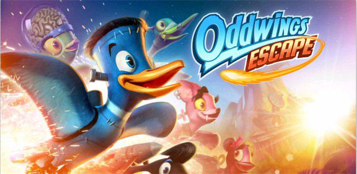 دانلود Oddwings Escape - بازی پروزا پرنده اندروید + مود + دیتا