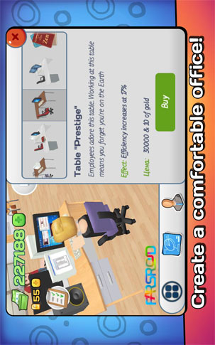 Office Story Android Game بازی اندروید
