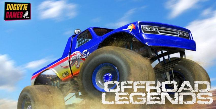 دانلود Offroad Legends - بازی حرکات نمایشی با ماشین سنگین اندروید + دیتا