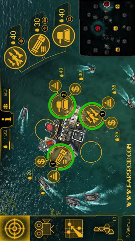 Oil Rush: 3D naval strategy Android بازی دریایی اندروید