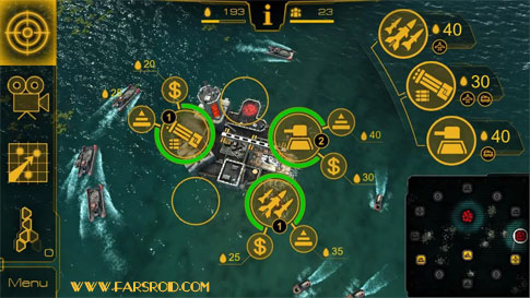 Oil Rush: 3D naval strategy Android - بازی اندروید
