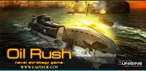 دانلود Oil Rush: 3D naval strategy - بازی استراتژیک هدایت کشتی اندروید + دیتا