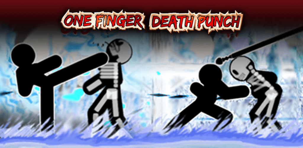 """دانلود One Finger Death Punch - بازی """"مشت مرگبار یک انگشتی"""" اندروید + مود"""