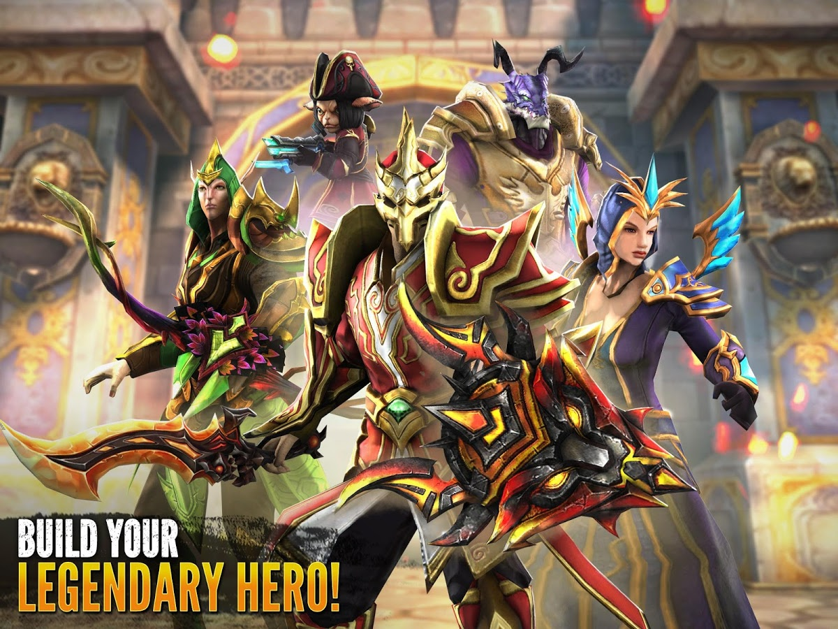 Download Order & Chaos 2: Redemption Android Gameloft - Apk + Obb SD - Google Play