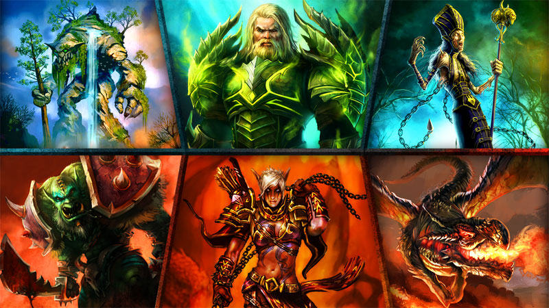دانلود Order & Chaos Duels 1.7.5o – بازی آنلاین هرج و مرج اندروید + دیتا