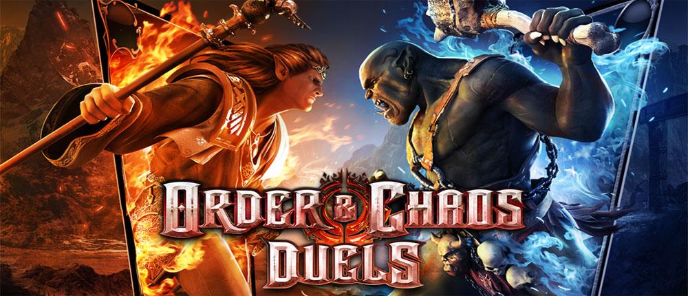 دانلود Order & Chaos Duels - بازی آنلاین هرج و مرج اندروید + دیتا