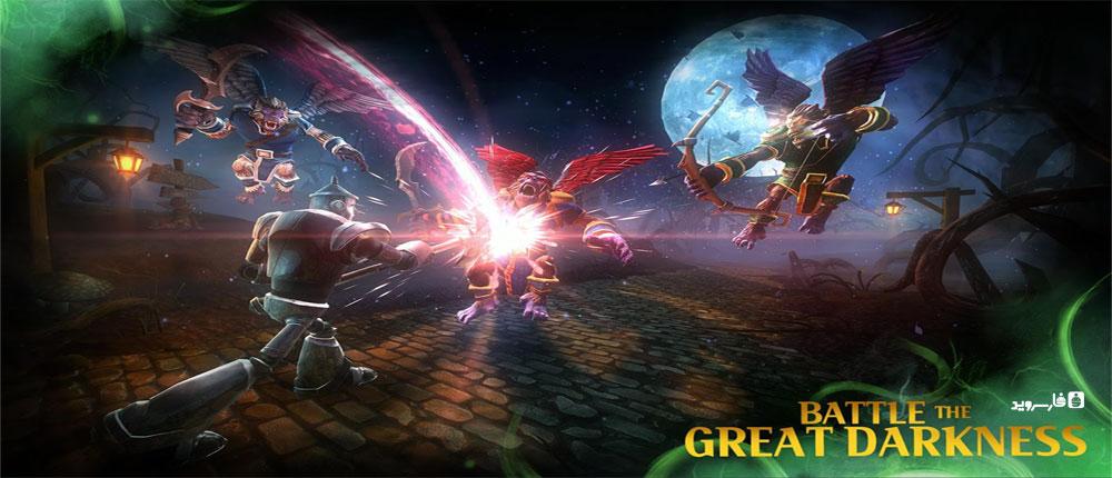 دانلود Oz: Broken Kingdom - بازی نقش آفرینی خارق العاده قلمرو شکست خورده اندروید + مود + دیتا