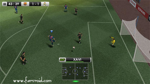 Download PES 2012 Pro Evolution Soccer Android Apk Data - OFFLINE